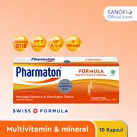 Pharmaton Formula 10s - Multivitamin Jaga Stamina dan Kesehatan