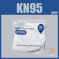 Masker KN95 5 ply Premium per Box isi 50 Pcs