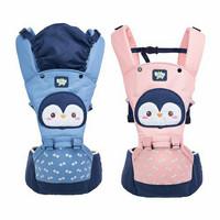 BABY JOY Gendongan Bayi Depan Pinguin Baby Joy Gendongan Hipseat