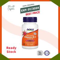 Now Foods Vitamin D-3 Vitamin D 2000 IU 2000IU Vit D - 240 Sgels