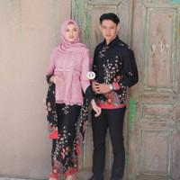 baju couple kebaya sarimbit bruklat premium high clas