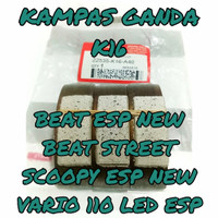 Kampas Ganda K16 BEAT ESP NEW STREET SCOOPY RING 12 VARIO 110 FI ESP