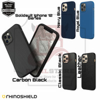Rhinoshield Solidsuit Case Iphone 12 Pro Max 12 Pro 12 Mini Iphone 12 - 12 Mini, Classic Black