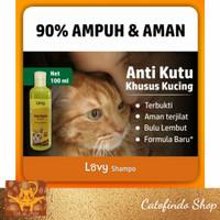 shampo lovy anti kutu kucing ampuh dan aman 100ml