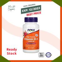 Now Foods Vit D High Potency Vitamin D 3 1000IU 1000 IU -360 Softgels