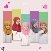 Jilbab Bergo Anak Perempuan Tali Aishwa Bayi 0-2 Tahun Azkia Hijab
