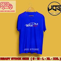 Kaos Distro Mobil Subaru WRX Racing Otomotif T-shirt Atasan Pria Keren