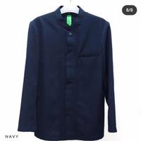 jasko khas pesantren dt biru dongker baju koko