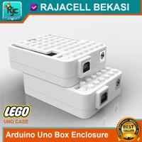 LEGO Box Arduino Uno R3 ABS Case Enclosure Warna Putih Import