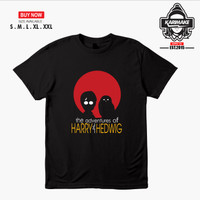Kaos Baju HARRY POTTER HARRY and HEDWIG Kaos Film - Karimake