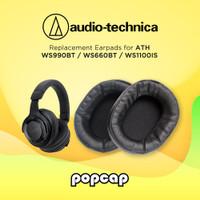 Earpad ATH-WS990BT WS1100 WS660BT Ear Cushion Pad Bantalan Pads Earcup