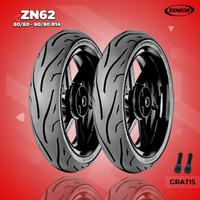 Paket Ban Motor Matic // ZENEOS ZN62 80/80 - 90/80 Ring 14 Tubeless