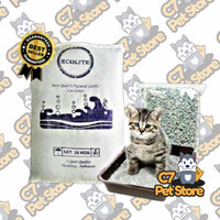 Pasir kucing zeolite Ecolite 25kg