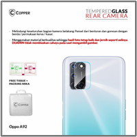 Oppo A92 - Copper Tempered Glass Kamera