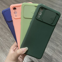 SAMSUNG A02 NEW Case Macaron Candy Baby Softcase Slide Sliding Cover
