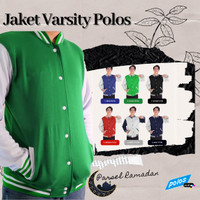 Parsel Ramadan Jaket Varsity Polos Premium Unisex