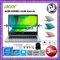 ACER ASPIRE 3 A314-35 - QUAD CORE N5100 4GB 256GB SSD 14 WIN10 OFFICE