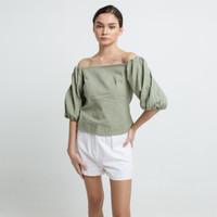 Cloth Inc Off Shoulder Puff Sleeve Top