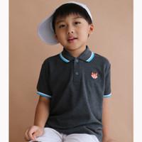 Polo Shirt Anak Warna Misty Tua Usia 1-9Tahun| P016 by Little Jergio