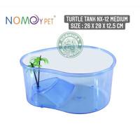 Turtle Tank NX-12 Size M / Aquarium Box Ember Tempat Kura Air Basking