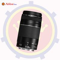 CANON LENS EF 75-300MM F4-5.6 TELEPHOTO ZOOM LENS