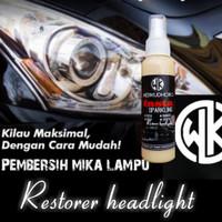 Pembersih mika lampu mobil headlight restorer polis mika lampu