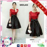Mini Dress Baju Wanita Untuk Imlek & Pesta 6 Variasi MEILAN