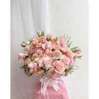 Premium Flower Vas Import / Hadiah Ulang Tahun /Bunga Custom Untuk Ibu