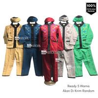 Baju Muslim Anak KOKO Bordir Trend ngaji & lebaran Usia 1-10 tahun