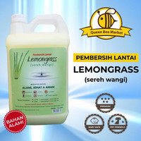 Cairan Pembersih Lantai Sereh Wangi Lemongrass 5 Liter Karbol Sabun -