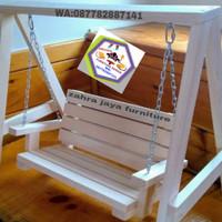 ayunan anak2 kayu jati belanda P 100xL 40xT 100 cm