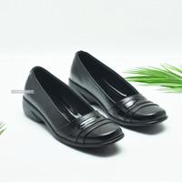 Sepatu Pantofel Wanita Kerja Formal Hitam Ringan Dan Nyaman Dipakai - 36