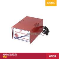 Alat Anti Jeglek Inverator Auto Start Soft Start Kaje 4000w 4000 watt