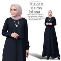 Baju Gamis Wanita Terbaru Miza Dress Syar'i asdf Remaja Modern