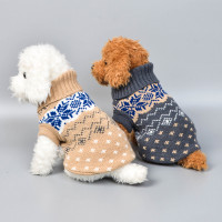Baju Kucing Anjing Motif Classic Elegant