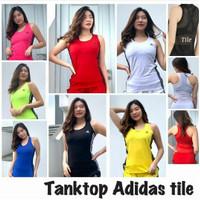Atasan Tanktop Senam gym fitness zumba add tile