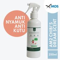 Anti Nyamuk Anti kutu X-MOS AM2 250ml Spray - Chibi's Dream Scent