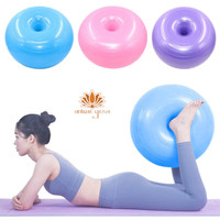 Home Gym Yoga Donut Ball Fitness Exercise Stability Balance Workout