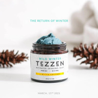 TEZZEN POMADE WILD WINTER CLAY LIMITED EDITION ACTIVATED CHARCOAL
