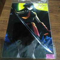 AKAME GA KILLI A4 letter file -Japan anime - map A4 plastik anime