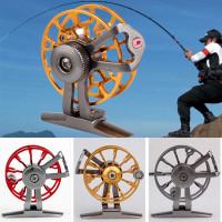 Gulungan Pancing LEO Full Metal Fishing Spinning Reel 120M - GOLD