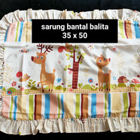 sarung bantal sarung guling elegance bayi balita anak