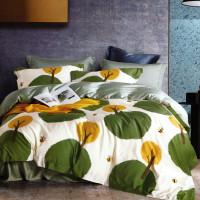 Sleep Buddy Set Sprei Green Bee Tencel Queen Size