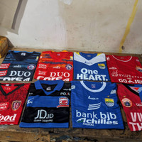 jersey baju sepak bola liga indonesia, persib, persija,arema,bali