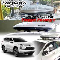 Roof Box Bagasi atas mobil All new Pajero 600L Slim