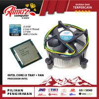 Processor Intel Core™ i3-6100 3.7 GHz 2 Core 4 Thread - Tray + Fan