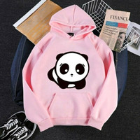Hoodie sweater jaket gambar panda anak balita laki laki perempuan