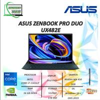 ASUS Zenbook Pro Duo UX482EG i7-1165G7 16GB DDR4 Nvidia MX450 2GB Wi10