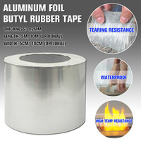 Lakban Anti Bocor Aluminium Butyl Waterproof Lakban Aluminium Foil