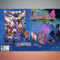 Preorder (DP) - Disgaea 6 : Defiance of Destiny Limited Ed (Switch)